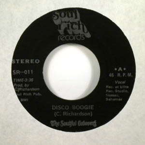 THE SOULFUL GROOVERS - Disco Boogie - 7inch (SP)