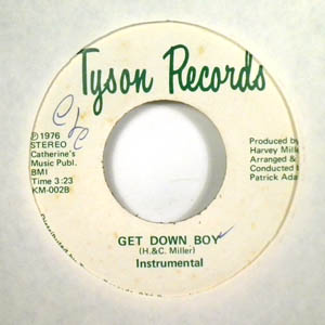 THE PAPER DOLLS - Get down boy - 7inch (SP)