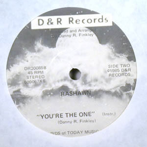 RASHAWN - You're the one - 7inch (SP)