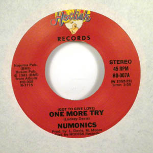 NUMONICS - One more try - 7inch (SP)