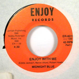 MIDNIGHT BLUE - Enjoy with me - 7inch (SP)