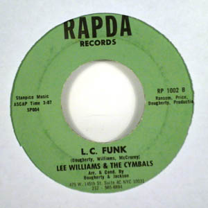LEE WILLIAMS & THE CYMBALS - L.C. Funk / What am I guilty of - 7inch (SP)
