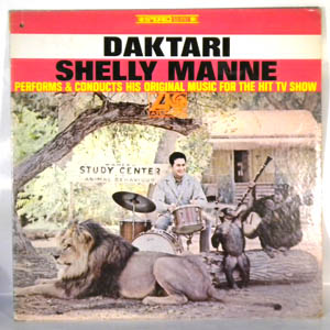 SHELLY MANNE - Daktari - LP