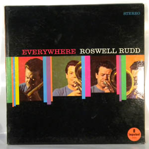 ROSWELL RUDD - Everywhere - LP