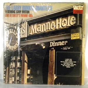 THE LARRY BUNKER QUARTETTE - Live At Shelly's Mane-Hole - LP