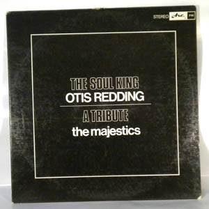THE MAJESTICS - The Soul King Otis Redding a tribute - LP