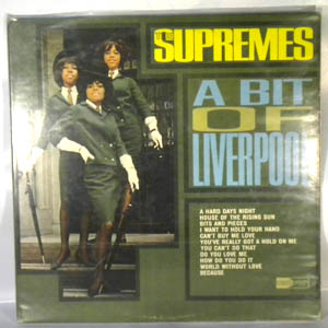 THE SUPREMES - A Bit Of Liverpool - LP