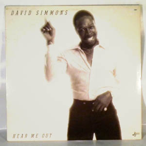 DAVID SIMMONS - Hear me out - LP