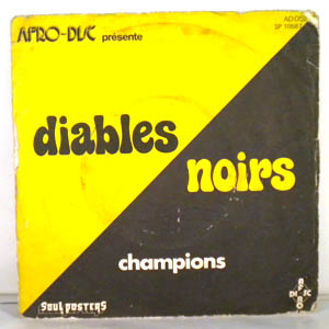 DIABLES NOIRS - Champions - 7inch (SP)