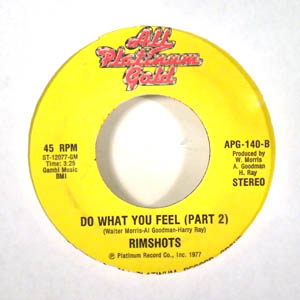 RIMSHOTS - Do what you feel - 7inch (SP)