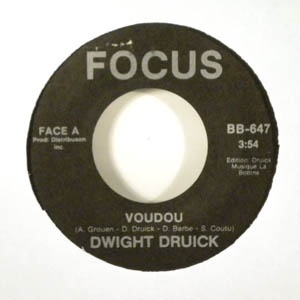 DWIGHT DRUICK - Voudou - 7inch (SP)