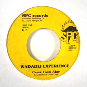 WADADLI EXPERIENCE - Came from afar - 45T (SP 2 titres)