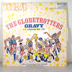 THE GLOBETROTTERS - Gravy / Cheer Me Up - 7inch (SP)