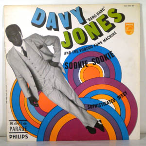 DAVY JONES AND THE VOODOO FUNK MACHINE - Sookie Sookie - 45T (SP 2 titres)