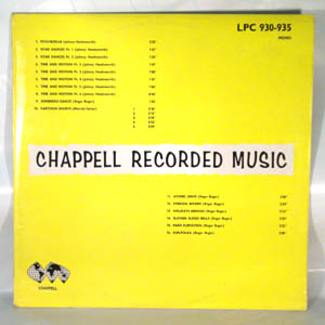 JOHNNY HAWKSWORTH / ROGER ROGER - Chappell LPC930-935 - LP
