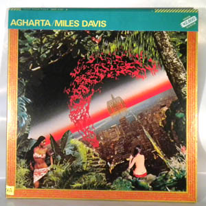 MILES DAVIS - Agharta - LP x 2 