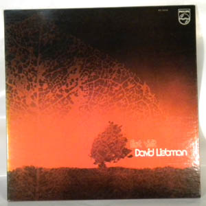 DAVID LIEBMAN - First Visit - LP