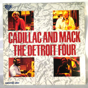 THE DETROIT FOUR - Cadillac And Mack - LP