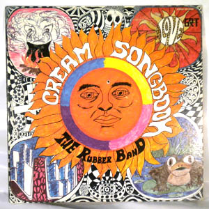 THE RUBBER BAND - Cream Songbook - LP