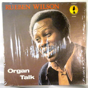 REUBEN WILSON - Organ Talk - LP