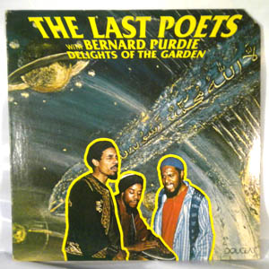 THE LAST POETS - Delights Of The Garden - LP