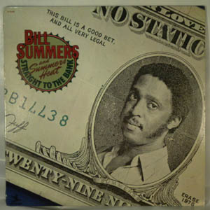 BILL SUMMERS - Straight to the bank - LP