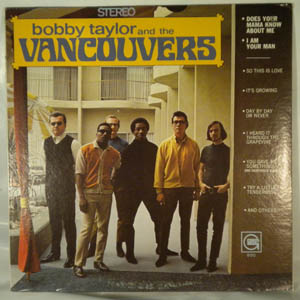 BOBBY TAYLOR AND THE VANCOUVERS - Same - 33T
