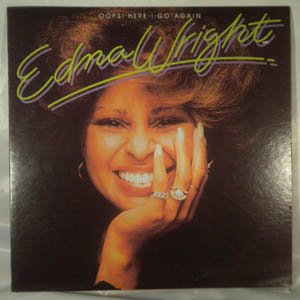 EDNA WRIGHT - Oops! Here i go again - LP