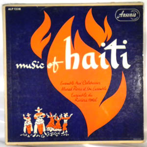 VARIOUS - Music of Haiti - LP