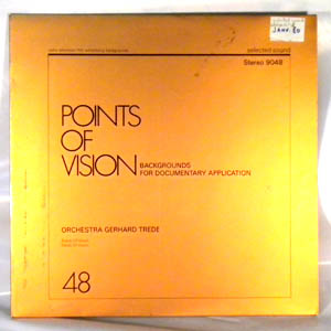 ORCHESTRA GERHARD TREDE - Points Of Vision - LP