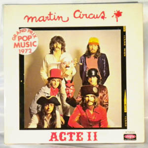 MARTIN CIRCUS - Acte II - LP x 2 