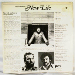 BERNIE SENENSKY - New Life - LP