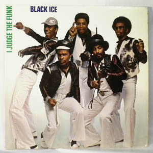 BLACK ICE - I judge the funk - LP