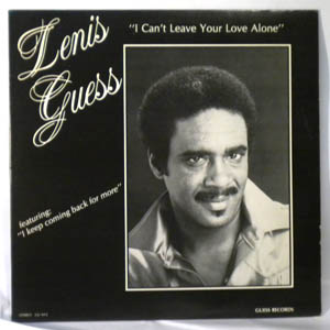 LENIS GUESS - I can't leave your love alone - LP