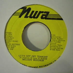 MELODY BEECHER - Let's get off tonight - 7inch (SP)