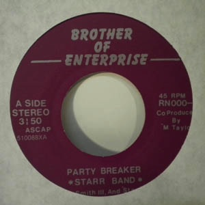 STARR BAND - Party breaker / Together my love - 7inch (SP)