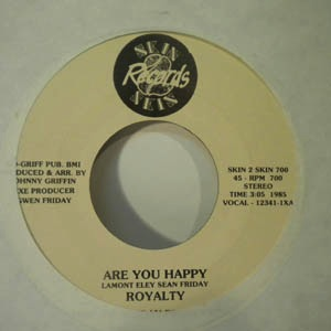 ROYALTY - Super love / Are you happy - 7inch (SP)