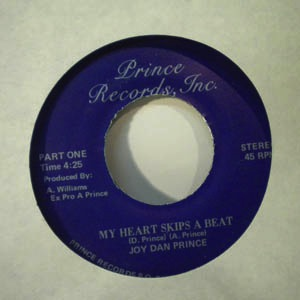 JOY DAN PRINCE - My money's kind of funny - 7inch (SP)