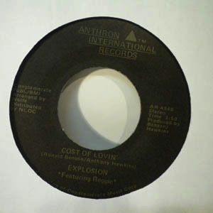 EXPLOSION - Cost of loving / Motion - 7inch (SP)