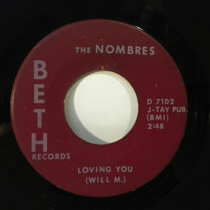 THE NOMBRES - Cold wine - 7inch (SP)