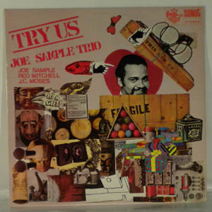JOE SAMPLE TRIO - Try Us - LP