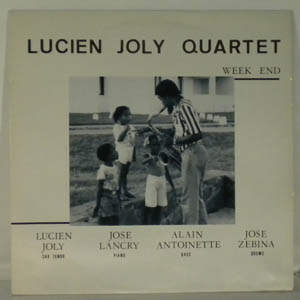 LUCIEN JOLY QUARTET - Week End - LP