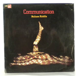 NELSON RIDDLE - Communication - LP