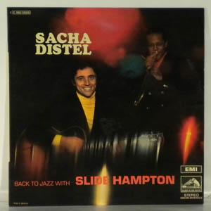 SACHA DISTEL - Back To Jazz With Slide Hampton - LP