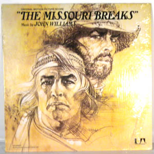 JOHN WILLIAMS - The Missouri Breaks - LP