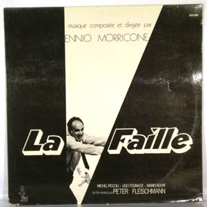ENNIO MORRICONE - La Faille - LP