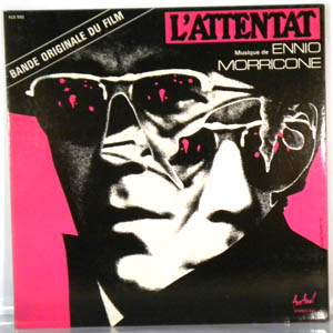 ENNIO MORRICONE - L'Attentat - LP