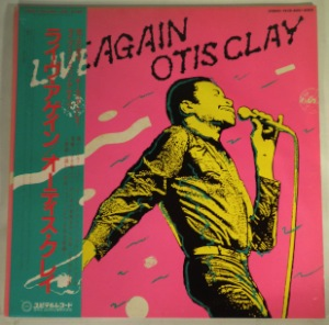 OTIS CLAY - Live again - LP x 2