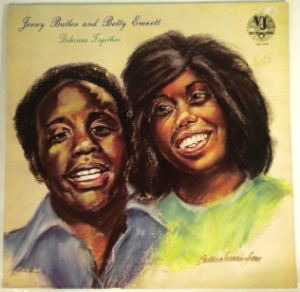 JERRY BUTLER AND BETTY EVERETT - Delicious together - LP