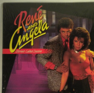 RENE AND ANGELA - Street called desire - LP